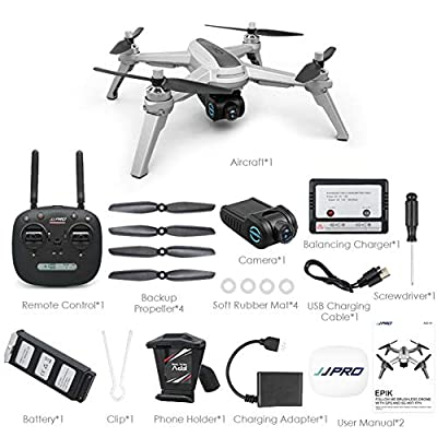 iBellete JJRC JJPRO X5 GPS Positioning Brushless Motor 1080PWIFI Camera Fixed Height Remote Control Aircraft Drone