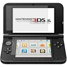 4x Lamina Protector de Pantalla para Nintendo 3DS XL + gamuza limpiadora