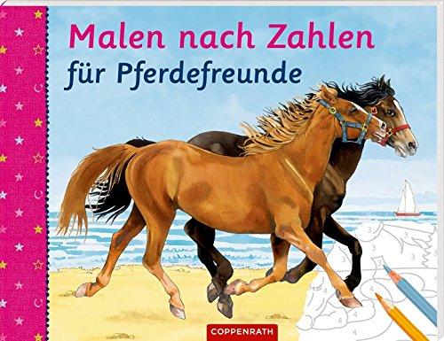 Malen nach Zahlen für Pferdefreunde