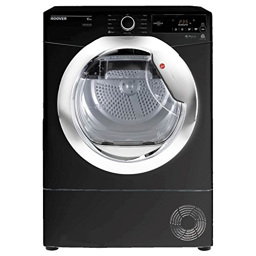 Hoover DXC10TCEB-80 10kg CondenserTumble Dryer in Black