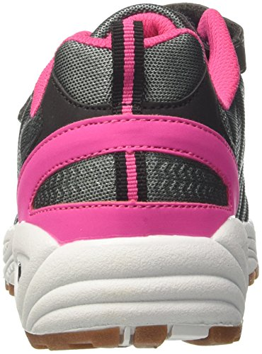 GEKA Damen flori Vs Multisport Indoor Schuhe Grau (Anthrazit/Pink)