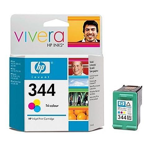 HP Patrone Nr.344 14ml Tinte 3-farbig 450 Seiten DeskJet 5740/6540, Photosmart 375/8150 (FR)