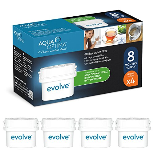 Aqua Optima EVD912 Evolve 60-day Water Filter, 12 pack