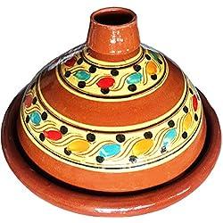 Marrakech Accessoires–Tajín marroquí (para cocinar (Diámetro 35cm 4–6personas