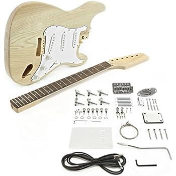 Rocktile DIY Double Cut Bausatz E-Gitarre (\