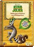 King Julien. Silbengeschichten aus Madagaskar - Lesetexte mit farbiger Silbenmarkierung (Lesen lernen mit bunten Silben)