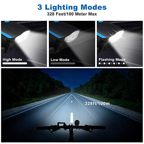 Zoom IMG-1 luci per bicicletta omeril led