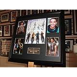 JLS Limited Edition Framed Signed Autograph Picture Presentation Display