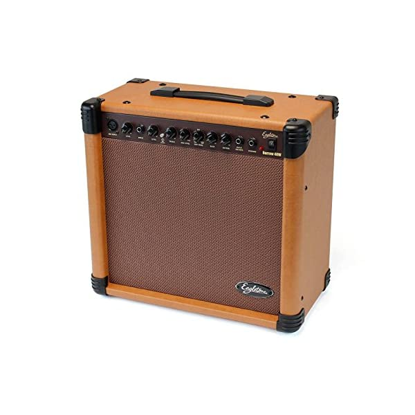 Eagletone Barrow amplificatore chitarra acustico 40 W marrone