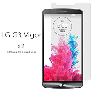 STOUCH Tempered Glass Screen Protector Shield For LG G3 Vigor / LG Optimus G3 Mini D725 LS885 (AT&T Sprint)