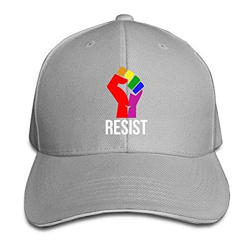 flys Widerstehen Sie Regenbogenfahne Unisex einstellbare Snapback Baseball Caps Bill Hat