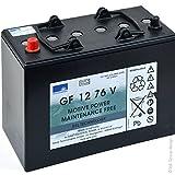 Exide - Batterie plomb traction GF12076V Gel 12V 76Ah Auto