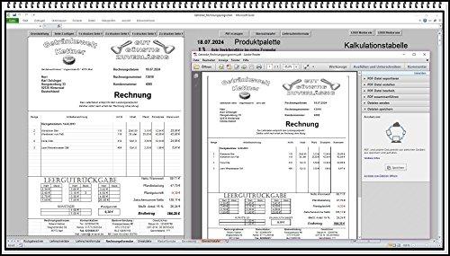 Rechnungsprogramm Rechnungssoftware für Getränkehandel Trinkhalle Getränkemarkt Getränke. Fakturierungssoftware mit Lieferschein und Pfandschein