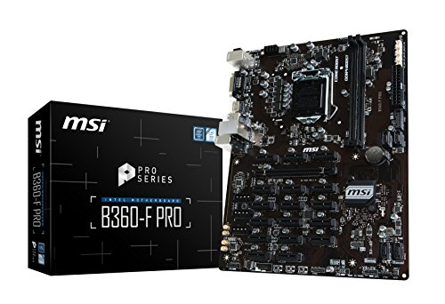 MSI B360-F Pro - Placa Base Pro Series LGA 1151