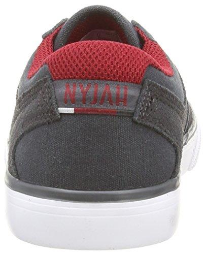 DC Shoes - Nyjah Vulc, Scarpe per bambini e ragazzi Grigio (Gris (Dark Shadow))