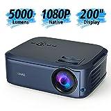 Beamer Full HD Native 1080P LCD LED Beamer 50000...
