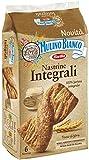 Mulino Bianco Nastrine Integrali per la Colazione e Snack Dolce per la Merenda - 6 Nastrine