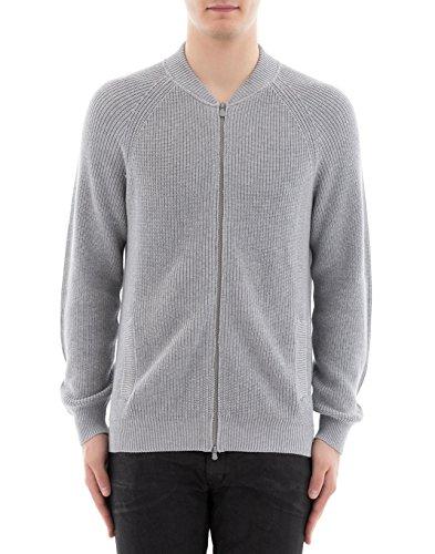 Preisvergleich Produktbild Brunello Cucinelli Herren M2874606c073 Grau Baumwolle Sweatshirt
