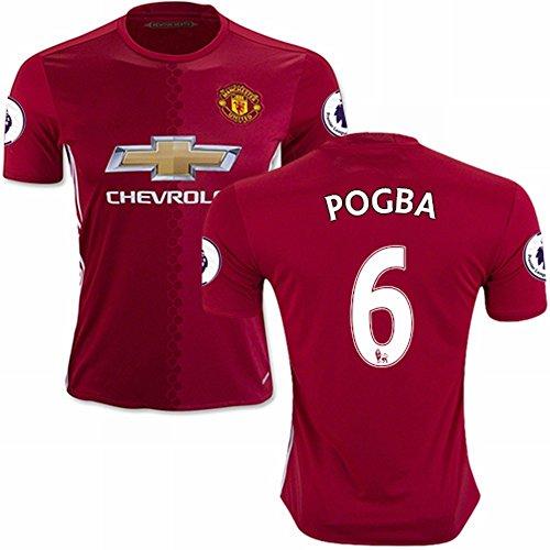 2016-2017-manchester-united-fc-maglietta-6-paul-pogba-ls-casa-calcio-maglia-kit-in-rosso-uomo-red-l