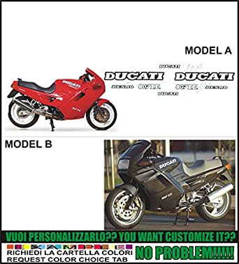 Kit adesivi decal stikers ducati 907 ie (ability to customize the colors)