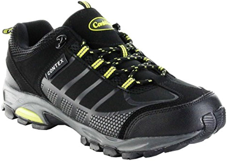ConWay Sportschuhe Schwarz Gruumln Softshell CONTEX Herren Outdoor Schuhe Golf
