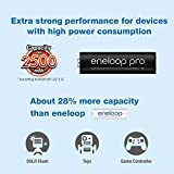 Panasonic Eneloop Pro AAA Micro 930mAh Eneloop NiMH Ready to Use Rechargeable Battery BK 4HCCE/4BE  (4 Eneloop Pro Batteries)