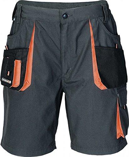 Preisvergleich Produktbild Herren Shorts dunkelgrau/schwarz/orange Größe 52