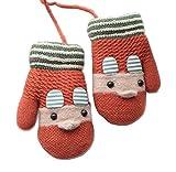 Guanti da maglia a maglia per bambini Guanti invernali a maglia per bambini