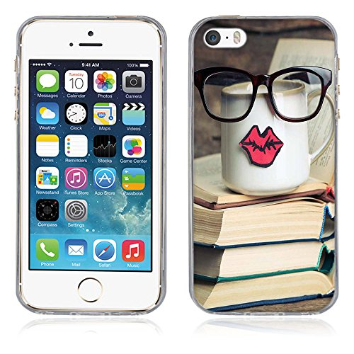 Coque Apple iPhone 5 5S 5SE, Fubaoda [comme le rêve] artistique Série Peinture Étui TPU silicone élégant et sobre pour Apple iPhone 5 5S 5SE pic: 22