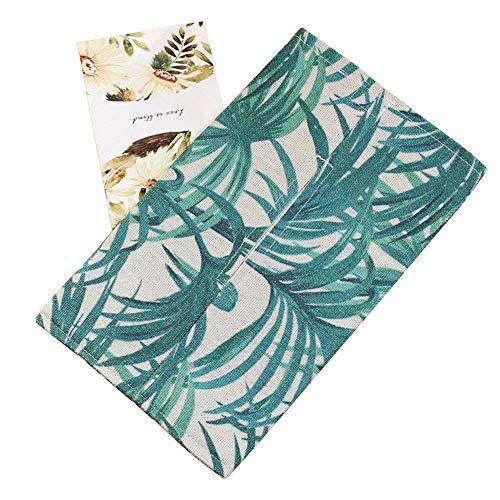 Holywin Handmade Fabric Cotton Linen Paper Towel Car Tissue Box Toilet Paper Set