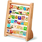 Melissa and Doug Educational Toy - ABC 123 Abacus, Multi Color