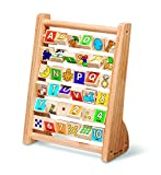 #7: Melissa and Doug Educational Toy - ABC 123 Abacus, Multi Color