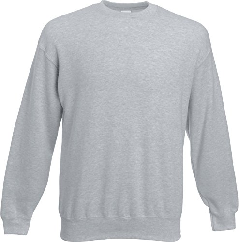 Set-In Sweatshirt 3XL,Heather Grey