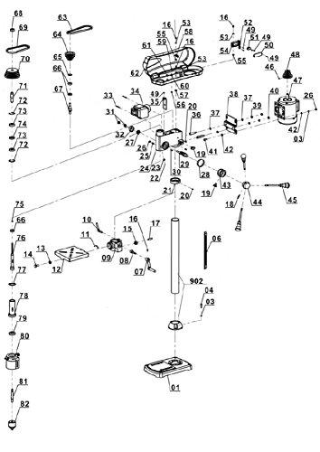Einhell BT-BD 701 Säulenbohrmaschine - 7