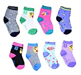 Isakaa Boy's and Girl's Fleece and Fairy Cotton Socks (2-3 Years, Small)
