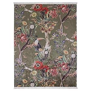 ESSENZA Teppich Airen Dschungel Polyester Mischung Grün, 120X180 cm