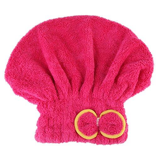 Preisvergleich Produktbild Mikrofaser Haar Turban schnell trockenes Haar Hut Wrapped Handtuch Bathred