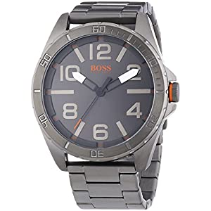 HUGO BOSS Berlin – Quartz Watch for Men with Stainless Steel Strap, Black