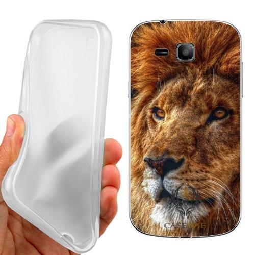 Custodia Cover Case Leone Fantastico per Samsung Galaxy Trend Plus S7580