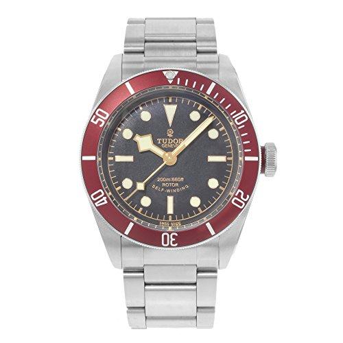 Tudor Heritage schwarz Bay Automatische Herren Armbanduhr 79220r-bkss