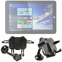 DURAGADGET Soporte para Coche para Fnac One Tablet | con Potente Ventosa Y Brazo Articulado