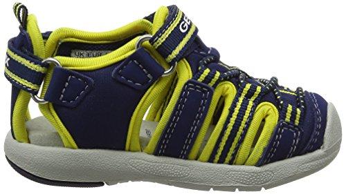 Geox B Sandal Multy Boy B, Chaussures Marche Bébé Garçon Bleu (NAVY/YELLOWC0657)