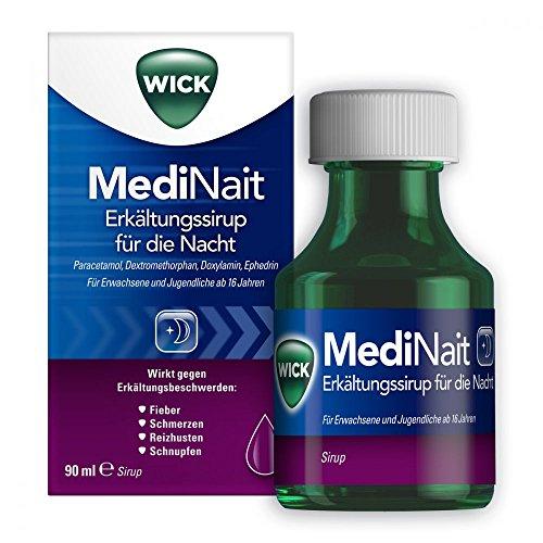 WICK MediNait Erkältungssaft 90 ml Sirup