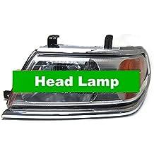 GOWE nivel ajustable lámpara de cabeza cromada para Mitsubishi Pajero Sport Challenger nativa Viejo modelo 2005