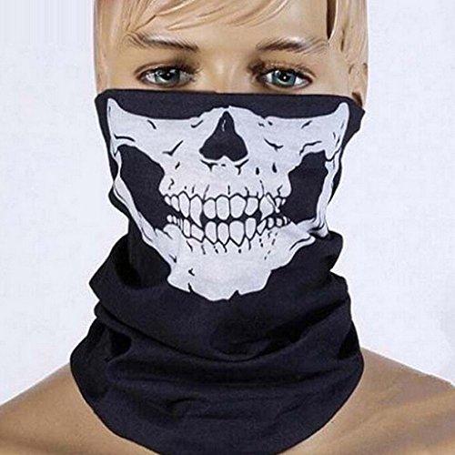 Saflyse Masken Skelett Bandana Gesichtsmaske Kopftuch Snowboard Skifahren Motorrad Biking Maske