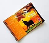 #4: Waterproof Art Pad YUPO A5-25sheets (Elephant Design) - Watercolor, Alcohol Ink, Acrylic