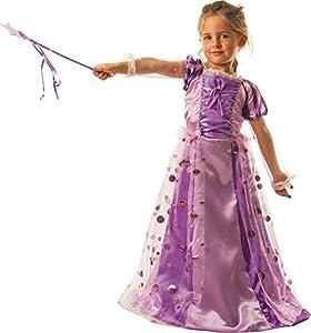 Party Pro-8622279-Disfraz Vestido de princesa mágico, 7-9años
