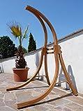 Gestell BEATA aus Holz Lärche für Hängesessel OHNE Sessel (nur Gestell) von AS-S
