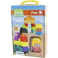 Miniland - Super Blocks Pets (32348)