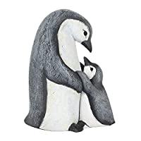 Animal Families Ornament - Mum Waddle I Do Without You - Adorable Mother And Child Black and White Penguin Ornament For Her or For the Home